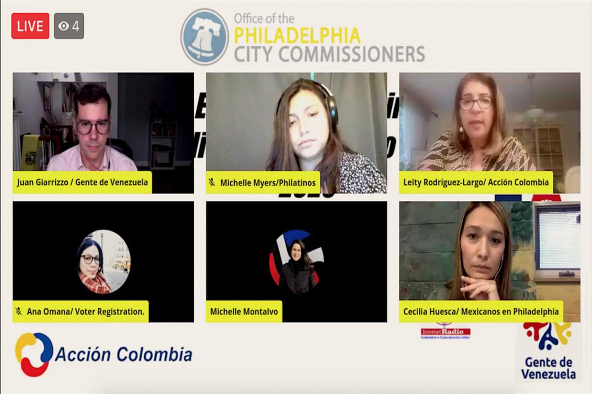 """Coalición en Filadelfia busca educar a votantes latinos """"escépticos"""" sobre las elecciones de noviembre 1"""