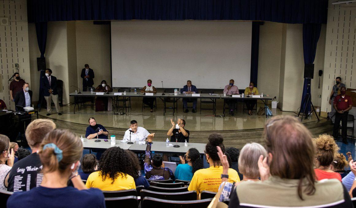 city council hearing
